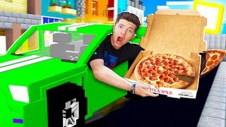 EXTREME Minecraft PIZZA Delivery Challenge!
