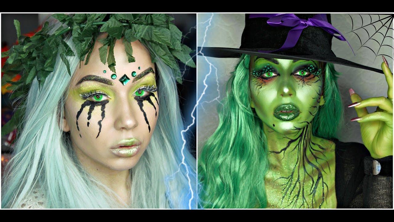 Vrajitoare Buna/Vrajitoare Rea | Tutorial machiaj de Halloween