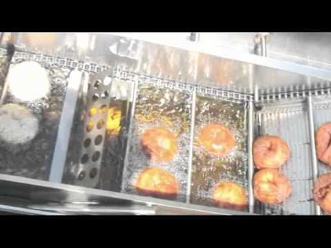 Macchina per la produzione di donuts ciambelle for Piani per la macchina