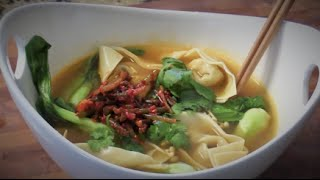 Chinese Wonton Recipes- Wonton Noodles Soup
