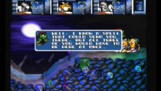 Sega Saturn A - Z - Lost Vikings 2 Norse By Norsewest (Gameplay)