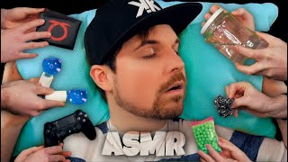 😴💆 TOP 10 ASMR triggers to relax and fall asleep [German]