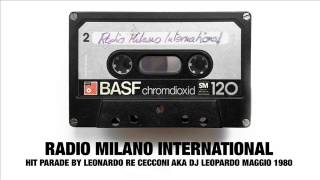 Radio Milano International, Hit Parade DJ Leopardo, 1980