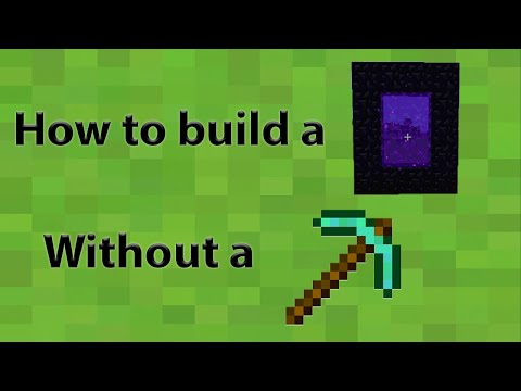 Minecraft Tips How To Build Nether Portal Without Diamond Xe