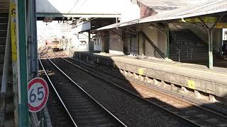 近鉄【激レア】養老鉄道D23廃車回送が桑名駅到着!