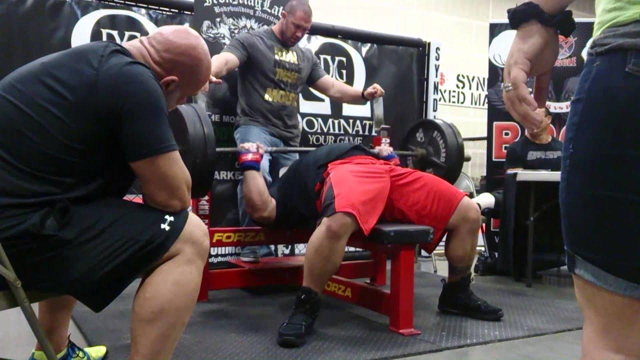 Eric Spoto Smashes 315 X 45 Bench Press Youtube