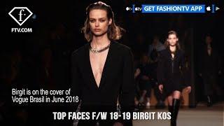 Birgit Kos Top Faces Model Talks Fall/Winter 2018-19    FashionTV   FTV