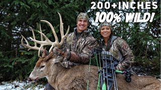 The Hunt For Wires! Josh's Bow Kill Of A lifetime A 215 inch Monster Buck! | Bowmar Bowhunting |