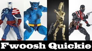 Quickie! Marvel Legends and Star Wars Black Series Reveals from MCM London Hasbro Panel