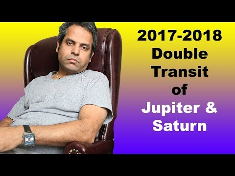 2017-2018 Horoscope Double Transit for all signs (Jupiter & Saturn) Aquarius