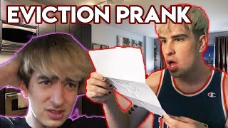 EVICTION LETTER PRANK ON JAKE (HE CRIED)