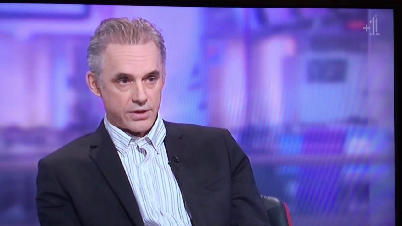 Lubricar Agregar Plisado  Jordan Peterson talks Lobster on Channel 4 16th January 2018 - YouTube
