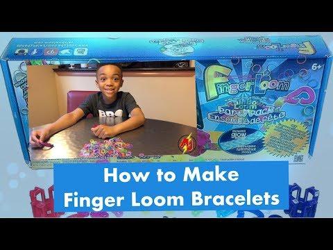 Finger Loom Bracelets