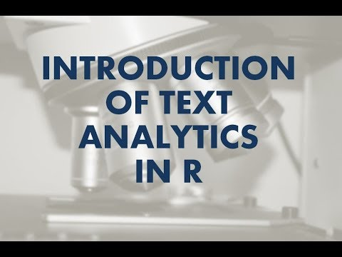 Data Science Tutorial | Introduction Of Text Analytics In R | R Programming Tutorial