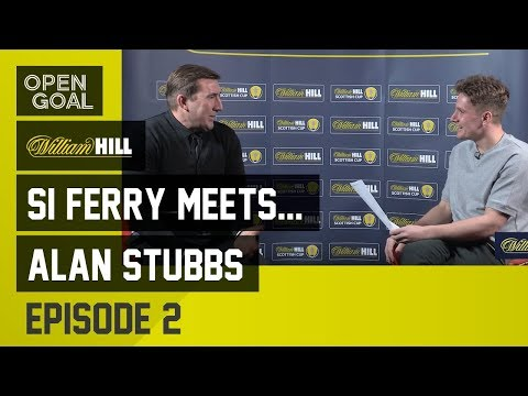 Si Ferry Meets...Alan Stubbs Ep 2 - John Barnes at Celtic, Cancer scare, Everton & Hibs Scottish Cup
