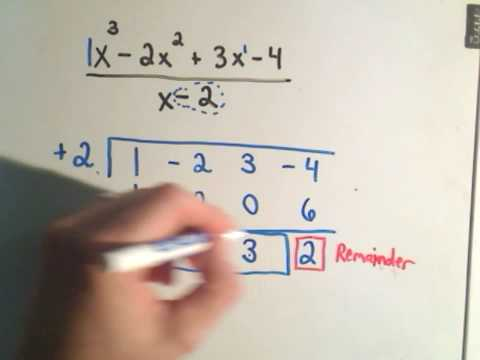 ❖ Synthetic Division - A Shortcut For Long Division! ❖