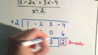 Synthetic Division - A Shortcut for Long Division!