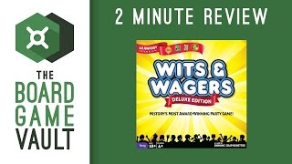 Wits and Wagers Deluxe - 2 Minute Review
