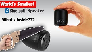 What's inside the World's Smallest Bluetooth Speaker?