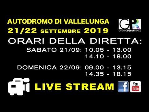 Gruppo Peroni Racing Weekend - Vallelunga sabato 21/09/19