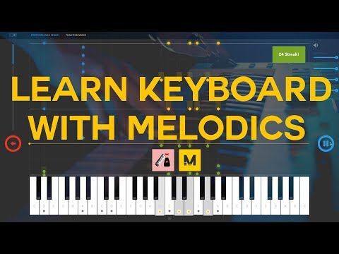 Producers: Learn the Keyboard with Melodics