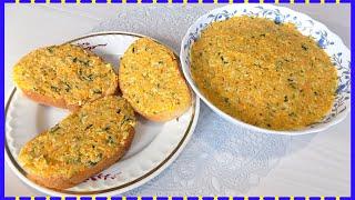 Рецепт овощной начинки для бутербродов, пирогов или блинов