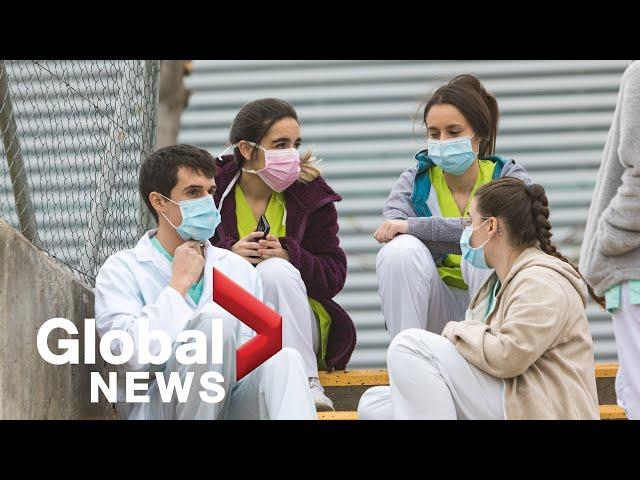 Coronavirus around the world: March 17, 2020