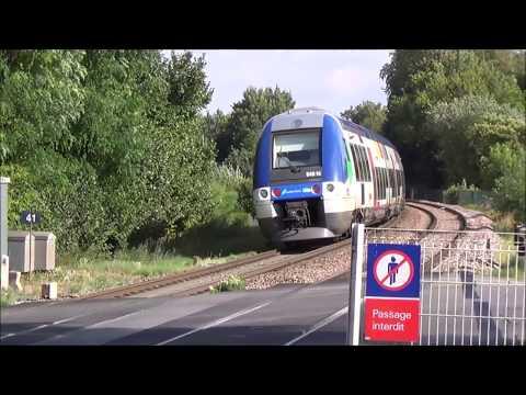 Un Après Midi Sur La Ligne Paris - Mulhouse (Intercités, Transilien, Fret)