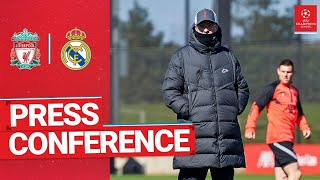 Liverpool's Champions League press conference | Real Madrid