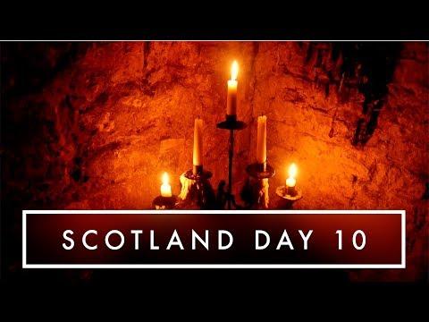 SKELETONS UNDER EDINBURGH | Scotland Day 10 | Kate Stark