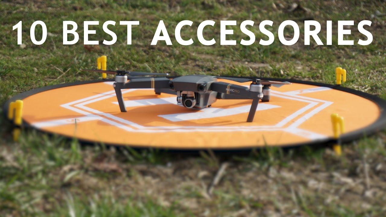 mavic pro 2 accessori  10 Amazing Accessories For Your DJI Mavic Pro - YouTube