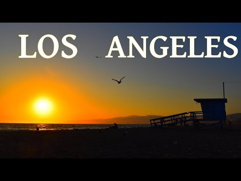Colorful Los Angeles, California in 1080p (full HD)