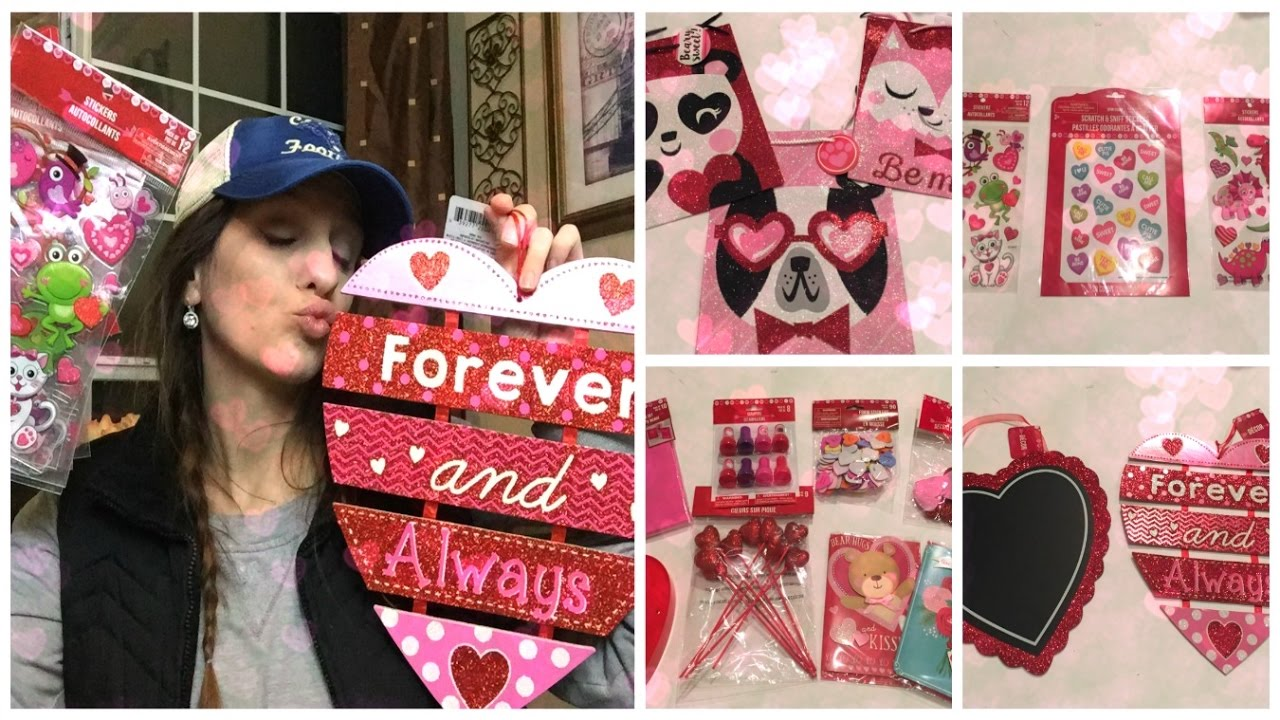Dollar Tree Haul Valentine S Day Decor 2017 Youtube