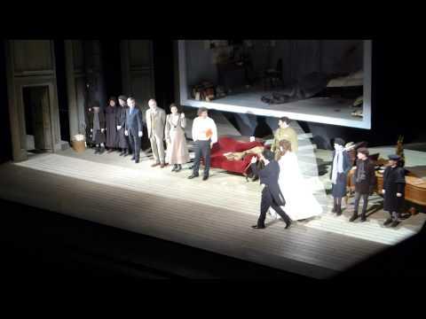 WERTHER Metropolitan Opera Curtain Call 2/25/14 Jonas Kaufmann