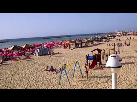 ممشى شاطئ تل ابيب
