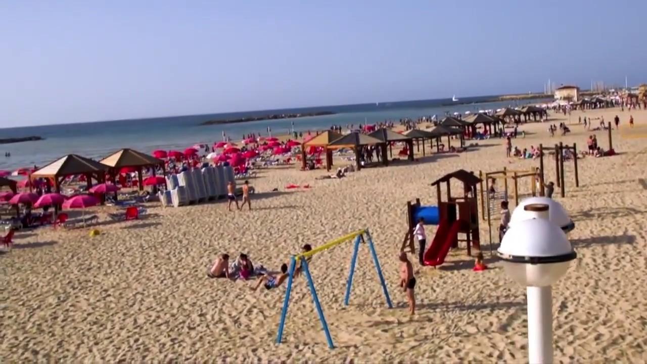 تعرف الى اسرائيل – ممشى شاطئ تل ابيب