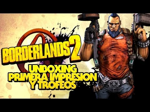 BORDERLANDS 2 PS Vita Unboxing + primera impresion + trofeos