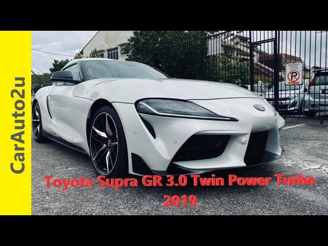 2019 TOYOTA SUPRA GR 3.0 TWIN POWER TURBO RM473,000