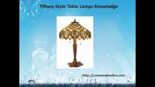 Tiffany Style Table Lamps Knowledge