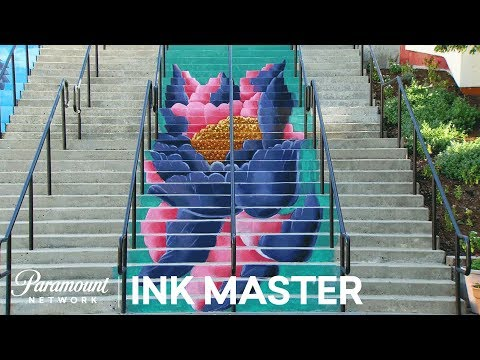 4ab4b962b90e3 'Stair Masters' Flash Challenge Preview | Ink Master: Return of the Masters  (Season 10) - YouTube