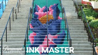 'Stair Masters' Flash Challenge Preview | Ink Master: Return of the Masters (Season 10)