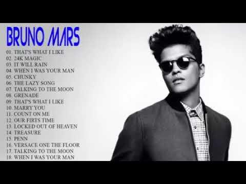 Best Songs of BRUNO MARS  - BRUNO MARS Greatest Hits Full Album 2018