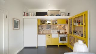 NEVER TOO SMALL ep.3 Micro apartment design Cairo Studio