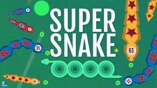 Supersnake.io Addicting Multiplayer Online Game! Similar to Agar.io