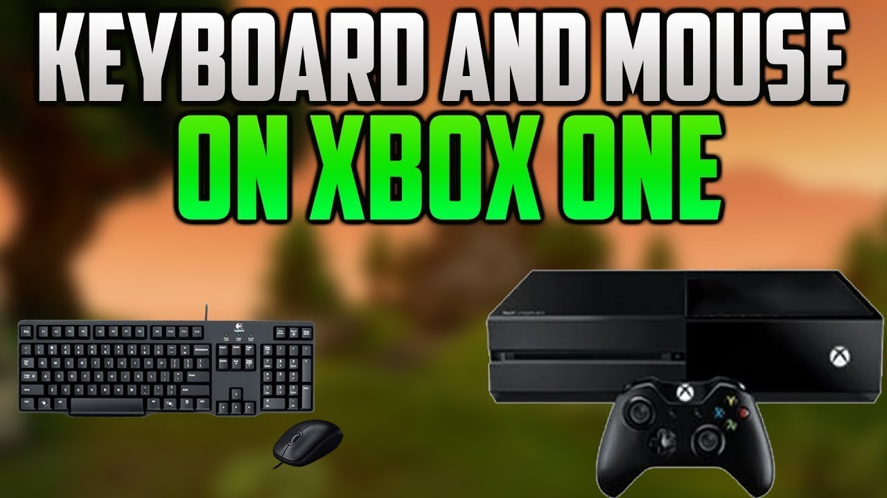 HOW TO FIX INPUT LAG ON XBOX ONE MOUSE AND KEYBOARD!!