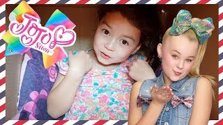 Video I Mailed Myself to JoJo Siwa in a Box as Fan Mail to get a JoJo Bow IT WORKED!!! download MP3, 3GP, MP4, WEBM, AVI, FLV April 2018