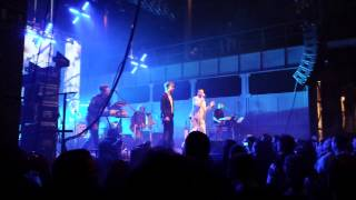 "Camouflage & Felix Räuber (Polarkreis 18) -Live Dresden 08.02.2014 - ""Passing By"""