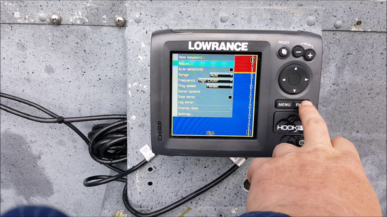Lowrance hook 5 overview
