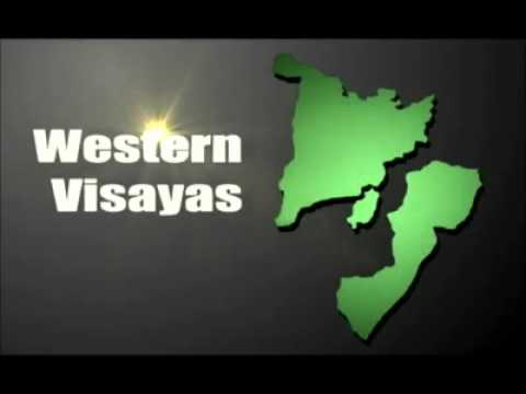 Map of Visayas Region with effects part 2
