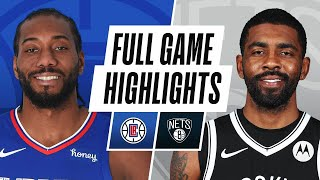 CLIPPERS at NETS | FULL GAME HIGHLIGHTS | February 2, 2021